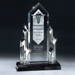 Majestic Optic Crystal Executive Tower Achievement Awards