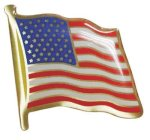 USA Flag Pin Chenille Lapel Pins