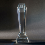 Larchmont Clear Optical Crystal Awards