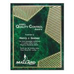 Grooved Brilliance Acrylic Plaque Colored Acrylic Awards