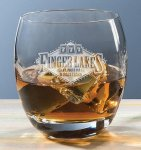 Roly Poly On The Rocks Crystal Barware Stemware