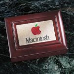 Wood Box with Stonecast Inlay Functional Awards