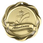 Fusion Medal  - Attendance Fusion Medal Awards
