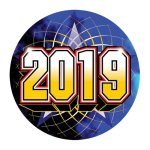 Mylar- 2019 Year Date Insert Medallion Awards