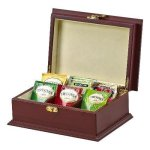 Rosewood Tea Box 6 Section Kitchen Gifts
