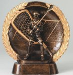 Resin Plate -Lacrosse Lacrosse Trophy Awards