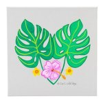 Canvas Leaves/3 Flowers (CE) Misc. Gift Awards