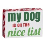 My Dog is on the Nice List Misc. Gift Awards