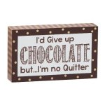 I'd Give Up Chocolate But Misc. Gift Awards