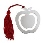 Apple Bookmark with Red Tassel  Misc. Gift Awards