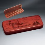 Rosewood Pen - Pencil and Case Set Misc. Gift Awards
