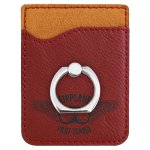 Leatherette Phone Wallet With Ring -Rose Misc. Gift Awards