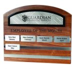 Colorframe Perpetual Monthly Perpetual Plaques