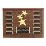 Perpetual Star Plaque Monthly Perpetual Plaques