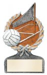 Multi Color Sport Resin Figure -Volleyball Multi Color Sport Resin Trophy Awards