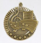 Star Medals -Music  Music Trophy Awards