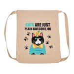 Backpack Cats Awesome (CE) Other Imprintables