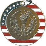 Victory - Stars & Stripes Medallion Patriotic Awards