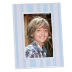 Blue & White Stripped Frame Photo Gift Items