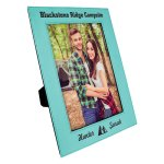 Leatherette Photo Frame -Teal Photo Gift Items