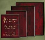 Piano Finish Wood Plaques Religious Awards
