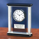 Smoke Glass with Chrome Metal Secretary Gift Awards