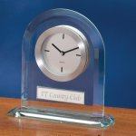 Rounded Glass Secretary Gift Awards