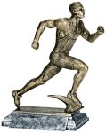 Resin Figure - Track Male  Sports Action Resin Trophy Awards