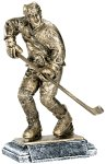 Resin Figure - Hockey Sports Action Resin Trophy Awards