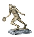 Resin Figure - Basketball Female Sports Action Resin Trophy Awards