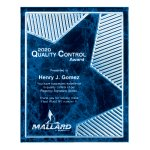 Grooved Brilliance Acrylic Plaque Square Rectangle Awards