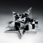 Optic Crystal Star Paperweight Star Awards