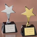 Small Stars with Glass Bases Star Awards