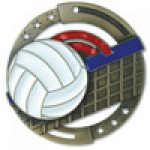 M3XL Series Medals -Volleyball  Volleyball Trophy Awards