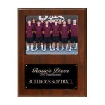 Team Sponsor Photo Plaque Volleyball Trophy Awards