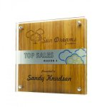 Shimmer Accent Wood Acrylic Awards