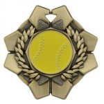 Imperial Medals -Softball Wreath Medal Awards