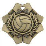 Imperial Medals -Volleyball  Wreath Medal Awards