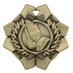 Imperial Medals -Religion  Wreath Medal Awards